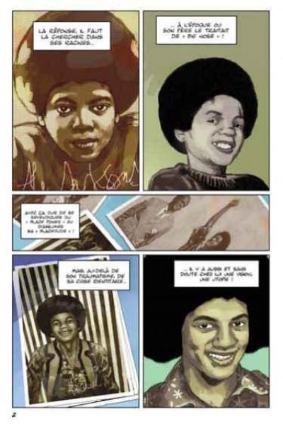 Page 1 michael jackson en bandes dessinées