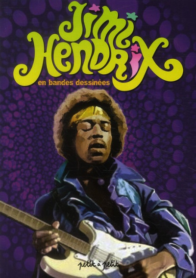 Couverture Jimi Hendrix en bandes dessinées