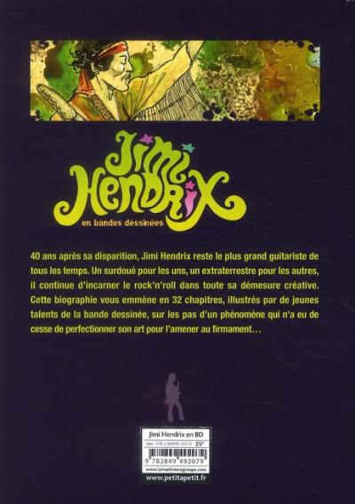 Dos Jimi Hendrix en bandes dessinées