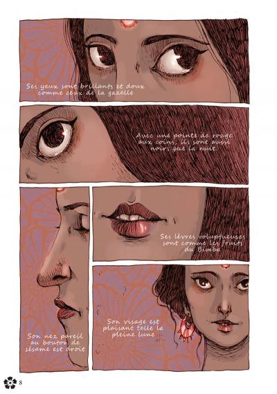 Page 1 le kâma sûtra en bande dessinée
