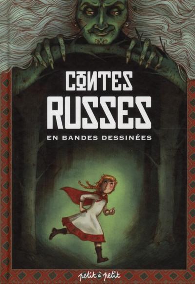 Couverture contes russes en bandes dessinées
