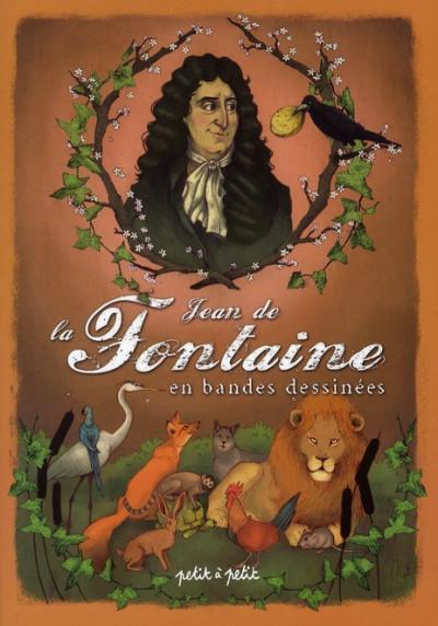 Couverture Jean de la fontaine ; 18 fables en bandes dessinées