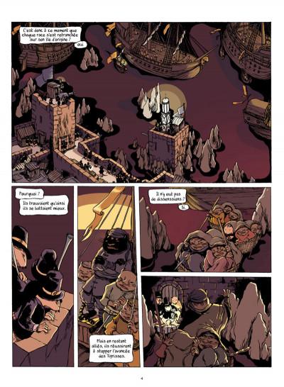 Page 3 la guilde de la mer tome 2 - au point d'entre-deux
