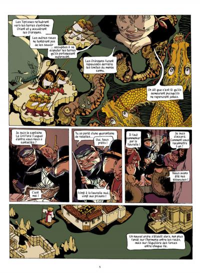 Page 4 la guilde de la mer tome 2 - au point d'entre-deux