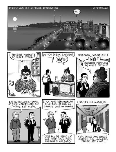 Page 4 kaboul disco tome 1 - comment je ne me suis pas fait kidnapper en afghanistan