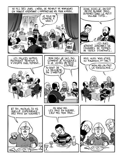 Page 6 kaboul disco tome 1 - comment je ne me suis pas fait kidnapper en afghanistan