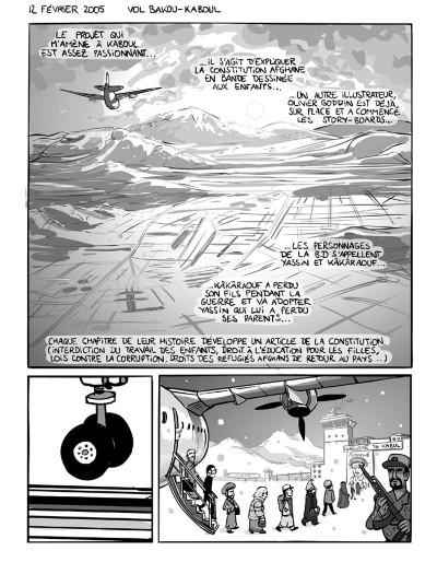Page 8 kaboul disco tome 1 - comment je ne me suis pas fait kidnapper en afghanistan