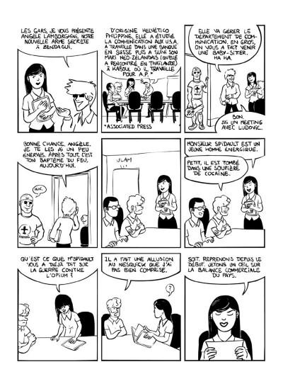 Page 4 kaboul disco tome 2 - comment je ne suis pas devenu opiomane en afghanistan
