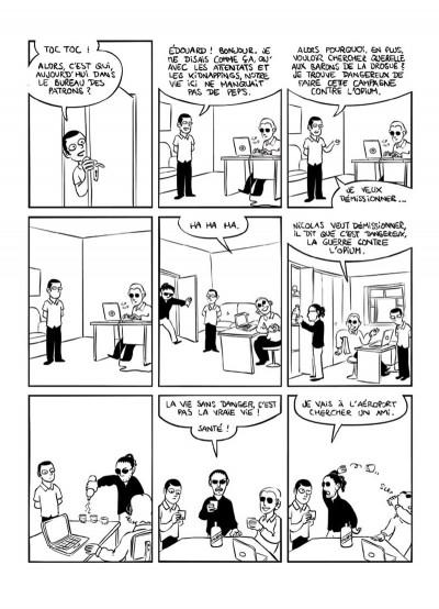 Page 8 kaboul disco tome 2 - comment je ne suis pas devenu opiomane en afghanistan