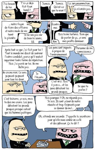 Page 3 tandis que la planète brûle