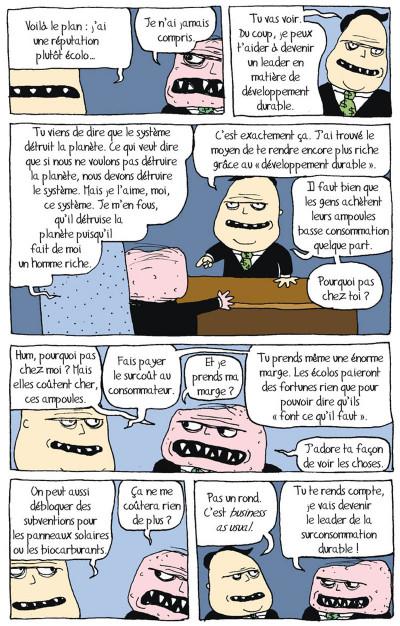Page 4 tandis que la planète brûle