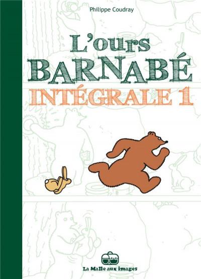 Couverture L'ours Barnabé intégrale tome 1