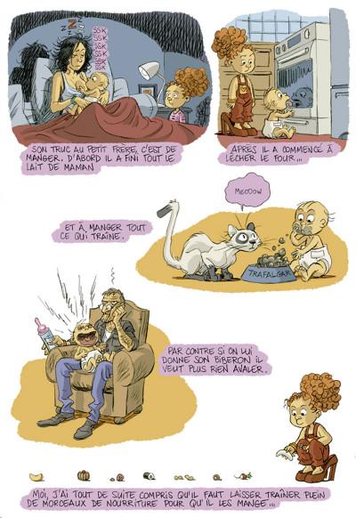 Page 3 je suis pas petite !!! tome 2 - le petit deuxième