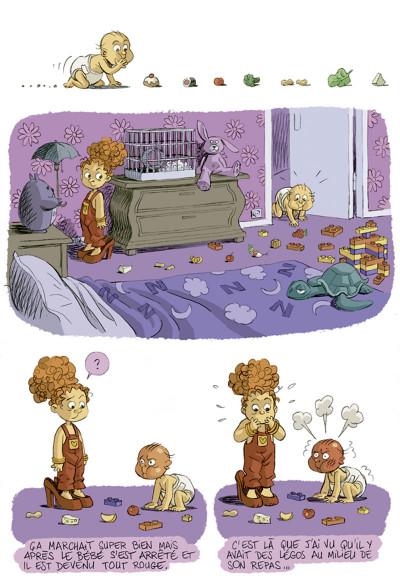 Page 4 je suis pas petite !!! tome 2 - le petit deuxième