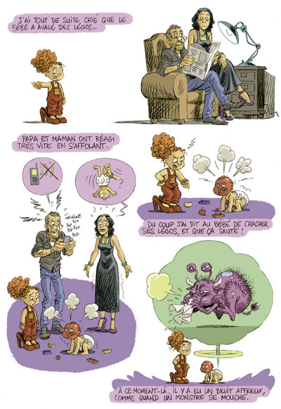 Page 5 je suis pas petite !!! tome 2 - le petit deuxième
