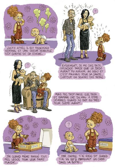 Page 6 je suis pas petite !!! tome 2 - le petit deuxième