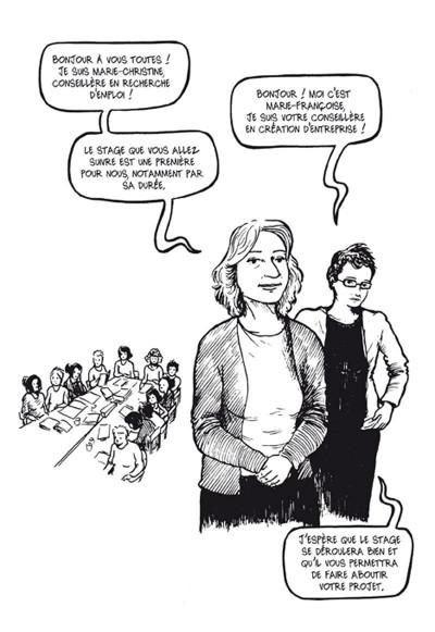 Page 2 résurgences ; femmes en voie de resociabilisation