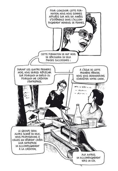 Page 3 résurgences ; femmes en voie de resociabilisation
