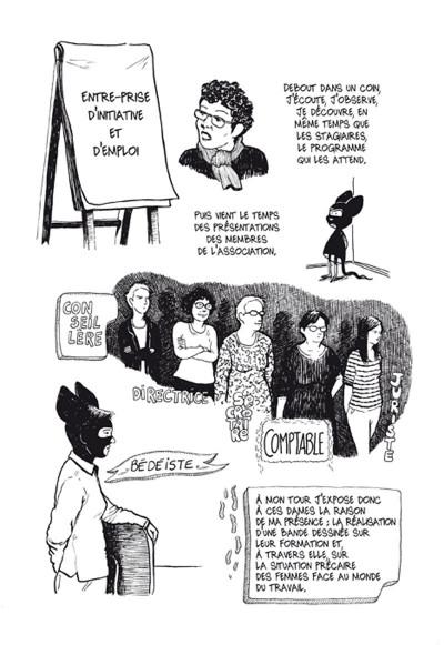 Page 4 résurgences ; femmes en voie de resociabilisation