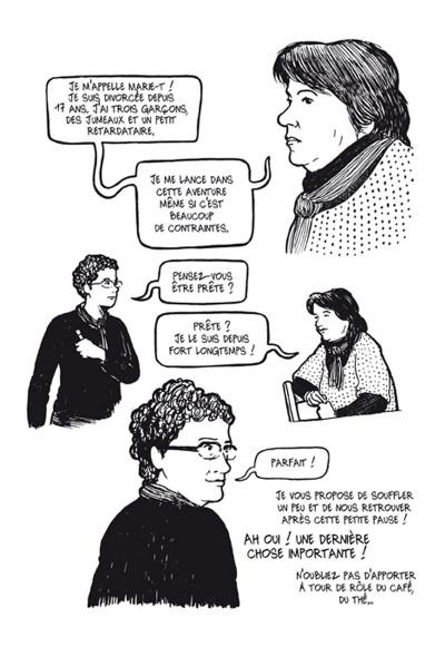 Page 6 résurgences ; femmes en voie de resociabilisation