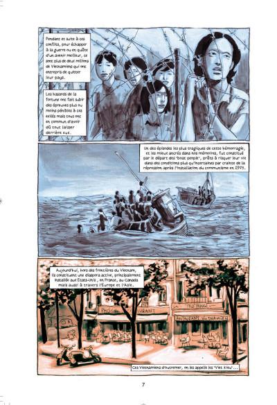 Page 6 Mémoires de viet kieu tome 1 - quitter saigon