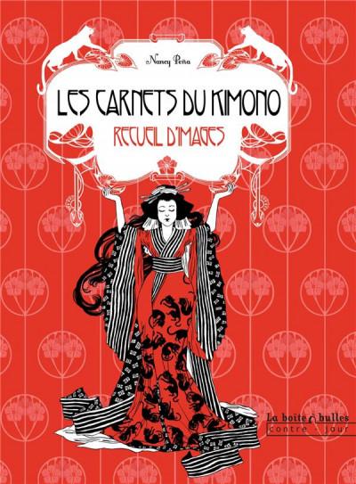 image de le chat du kimono ; recueil d'images
