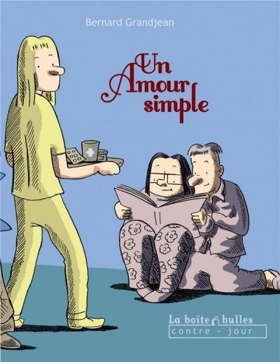 Couverture un amour simple