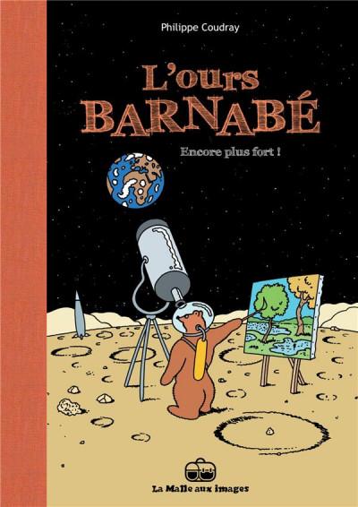 Couverture l'ours Barnabé tome 13 - encore plus fort !