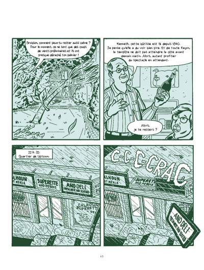 Page 8 A.D. ; la Nouvelle Orléans après le déluge