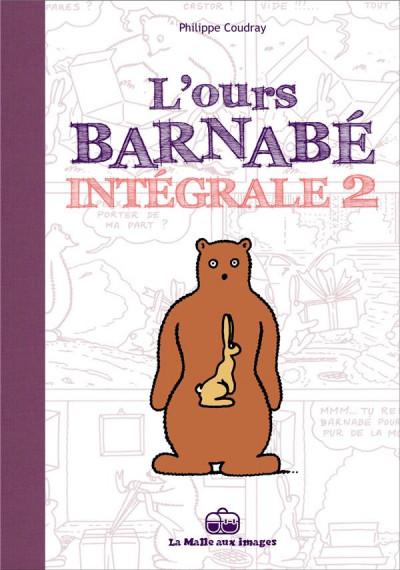Couverture l'ours Barnabé ; INTEGRALE VOL.2