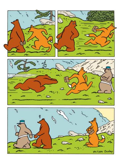 Page 4 l'ours Barnabé ; INTEGRALE VOL.2