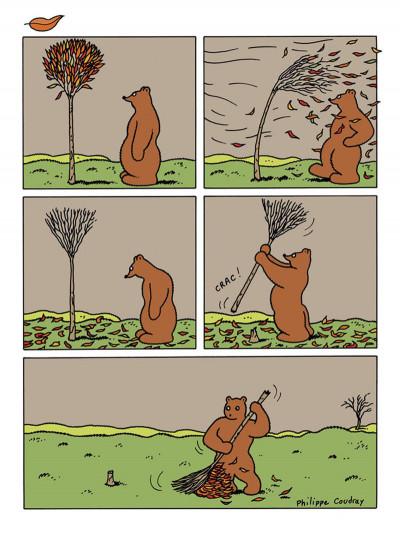 Page 3 l'ours Barnabé HORS-SERIE ; sans paroles