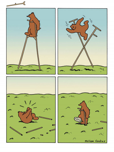 Page 4 l'ours Barnabé HORS-SERIE ; sans paroles