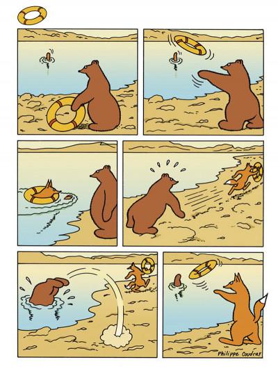 Page 7 l'ours Barnabé HORS-SERIE ; sans paroles