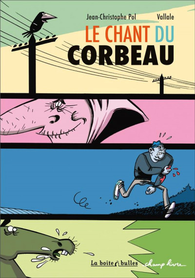 Couverture le chant du corbeau