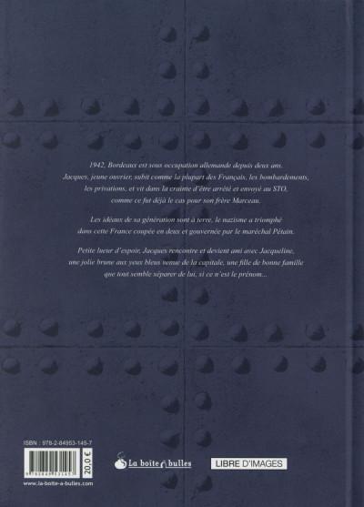 Dos Ouvrier, mémoires sous l'occupation tome 2