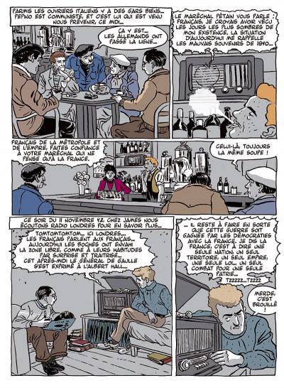 Page 6 Ouvrier, mémoires sous l'occupation tome 2