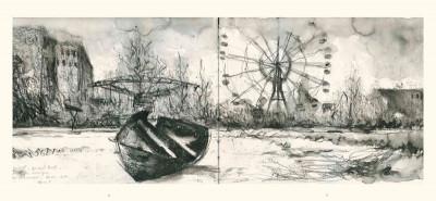 Page 2 les fleurs de Tchernobyl ; carnet de voyage dans le désert de Russie