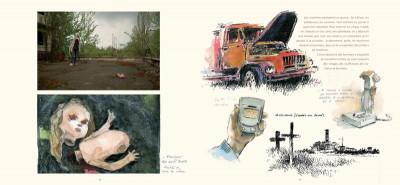 Page 3 les fleurs de Tchernobyl ; carnet de voyage dans le désert de Russie