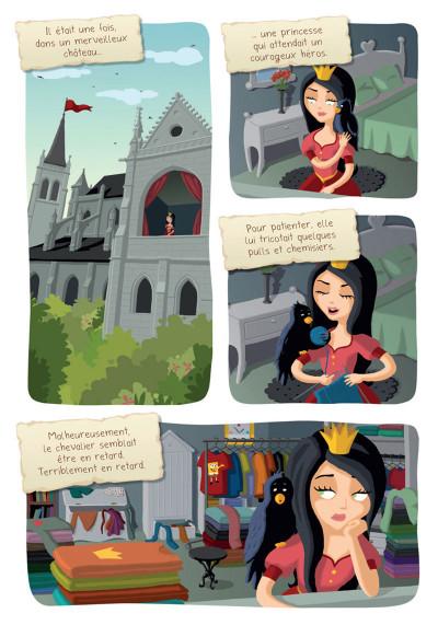 Page 1 Princesse Libellule tome 2