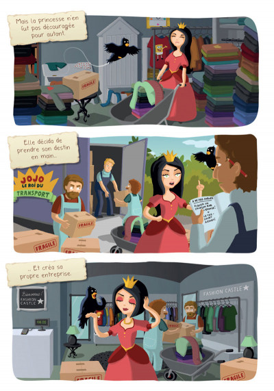 Page 2 Princesse Libellule tome 2