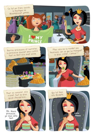 Page 3 Princesse Libellule tome 2