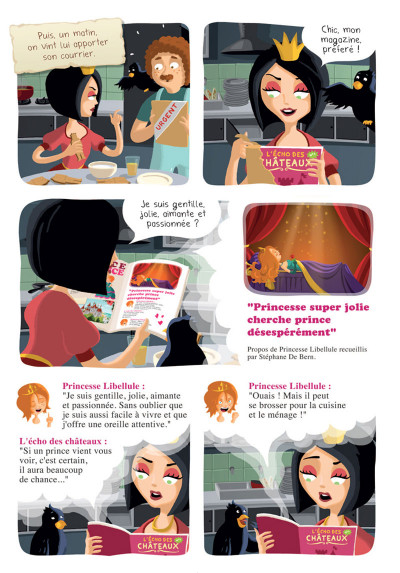 Page 4 Princesse Libellule tome 2