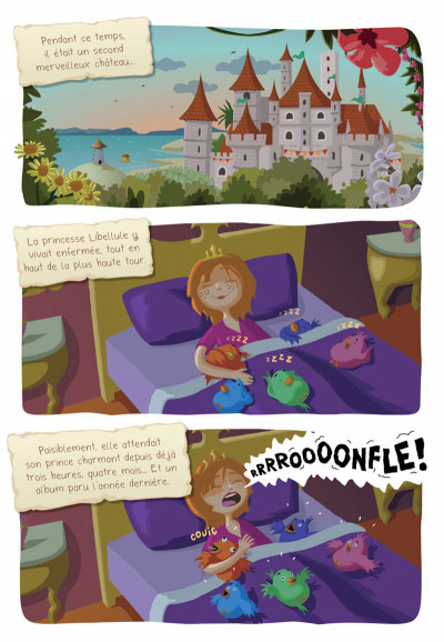 Page 6 Princesse Libellule tome 2