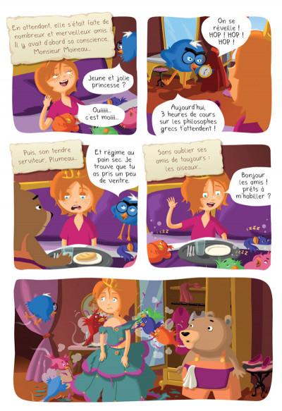 Page 7 Princesse Libellule tome 2