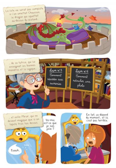 Page 8 Princesse Libellule tome 2