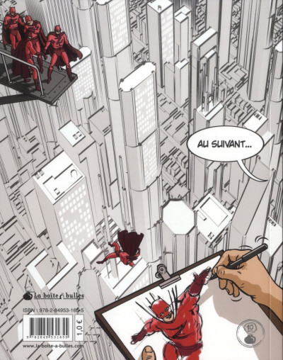 Dos Les métiers secrets de la bande dessinée