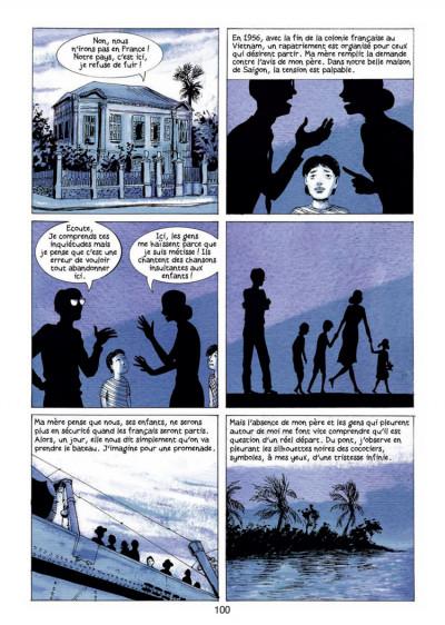 Page 1 mémoires de Viet Kieu tome 1 - quitter Saigon