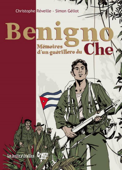 Couverture Benigno - mémoires d'un guérillero du Che
