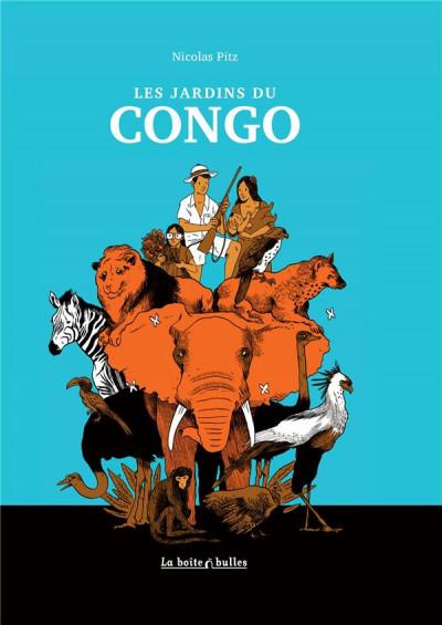 Couverture les jardins du Congo